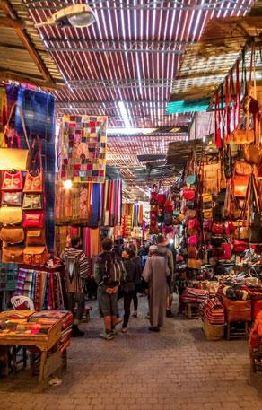 Agadir Morocco Market