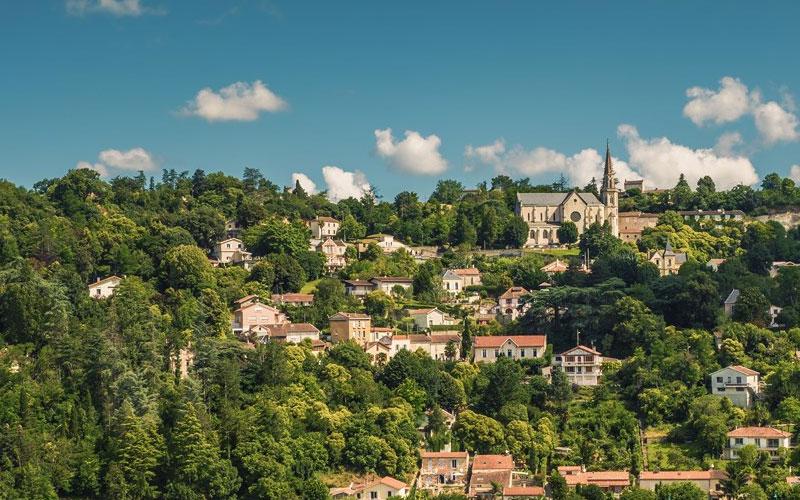 Hermitage hillside