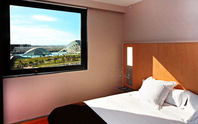 Hotel Barcelo Room in Valencia City