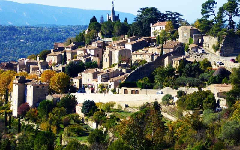 Saint Remy de Provence View