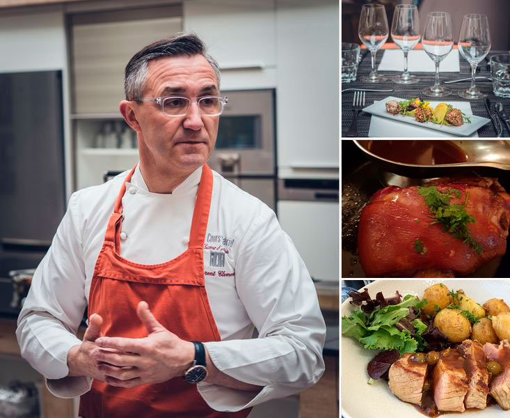 Gourmet cooking class in Chartres