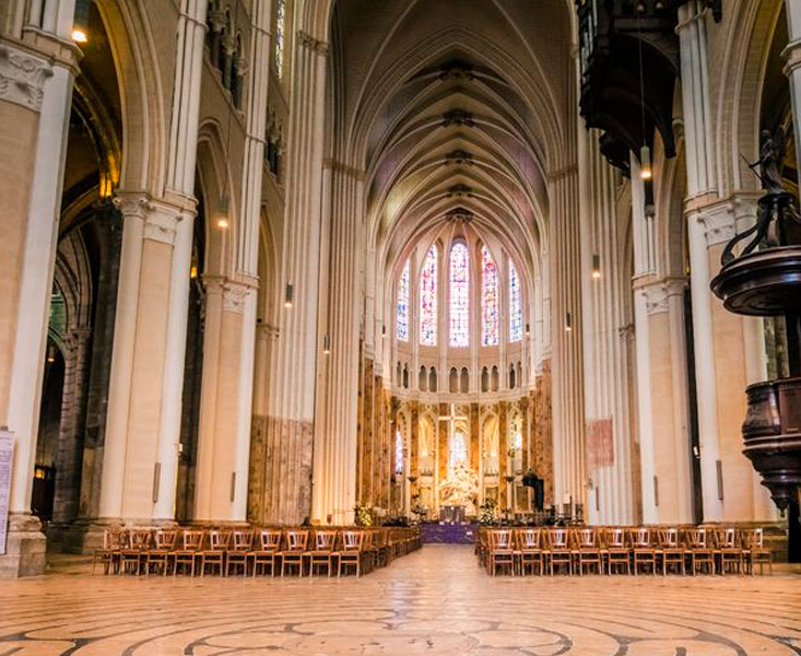 The Beauty Inside the Chartres Cathedral