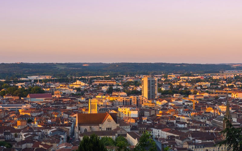 City View of Agen