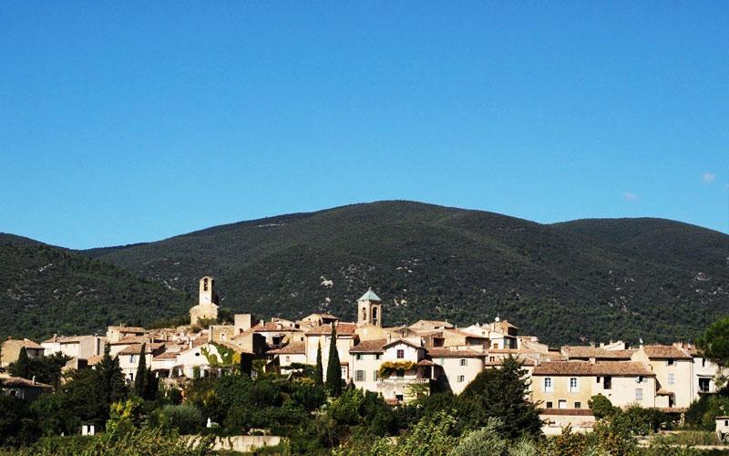 Lourmarin View