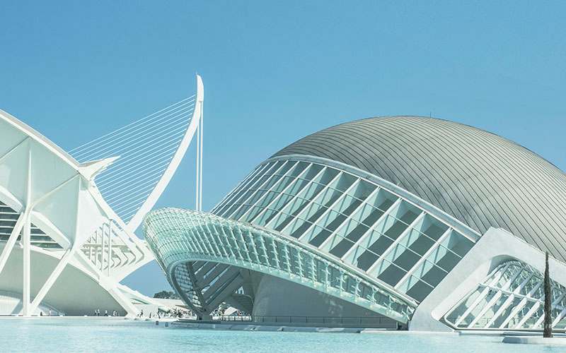 Arts and science city valencia