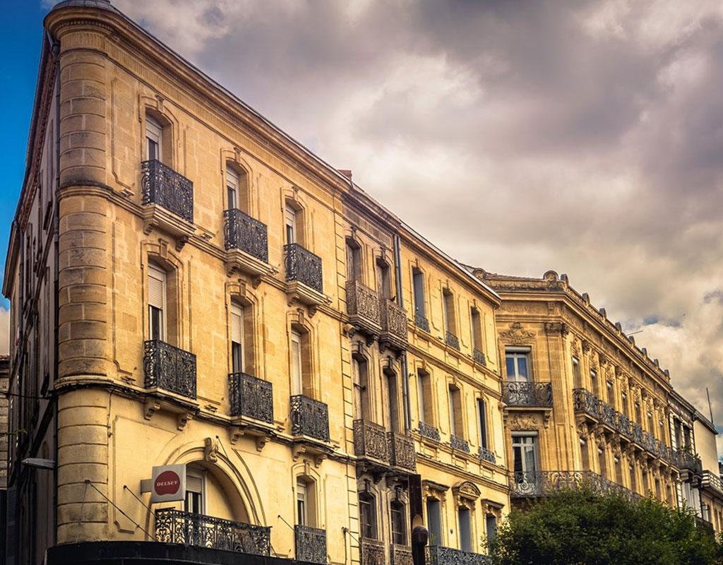 Haussmann style buildings