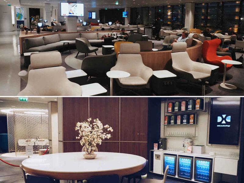 Lounge at CDG Singapore